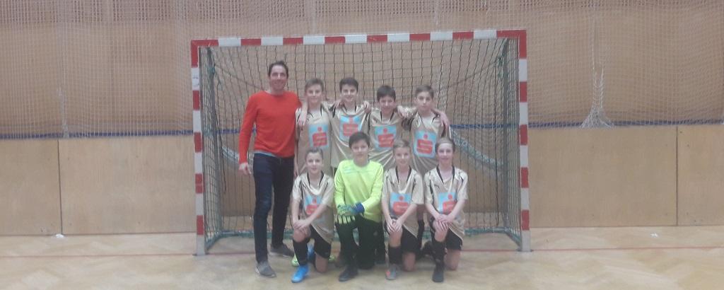 Gratulation unserer Fußball Schülerliga Mannschaft