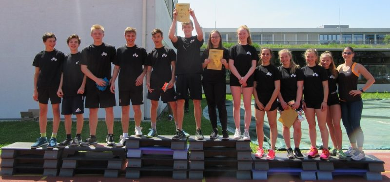 Sieg bei den Leichtathletik Bezirksmeisterschaften