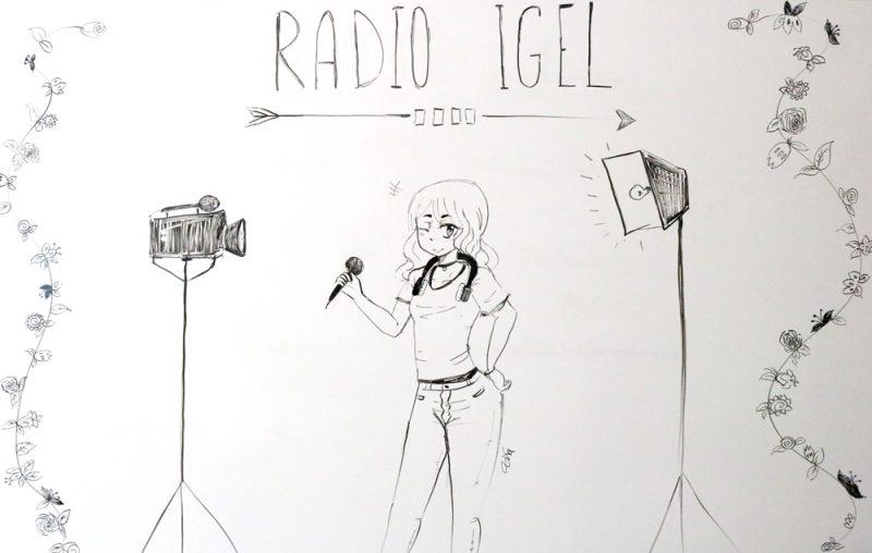 WIKU-Schülerin interviewt bei Radio Igel