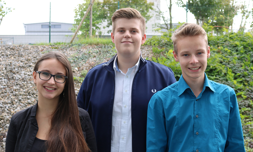 Schulsprecherteam 2018/19