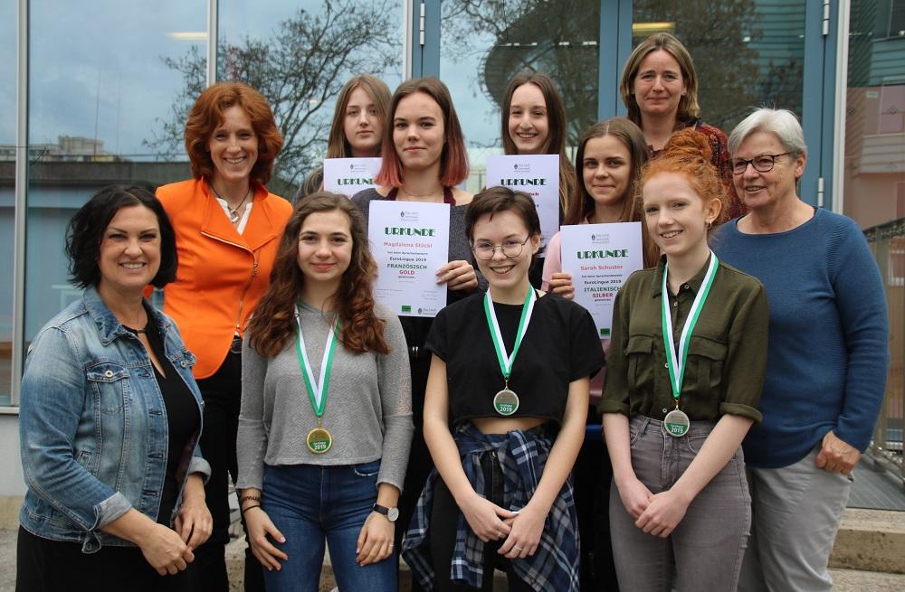 Medaillenregen für die WIKU-Sprachentalente beim Fremdsprachenwettbewerb EUROLINGUA