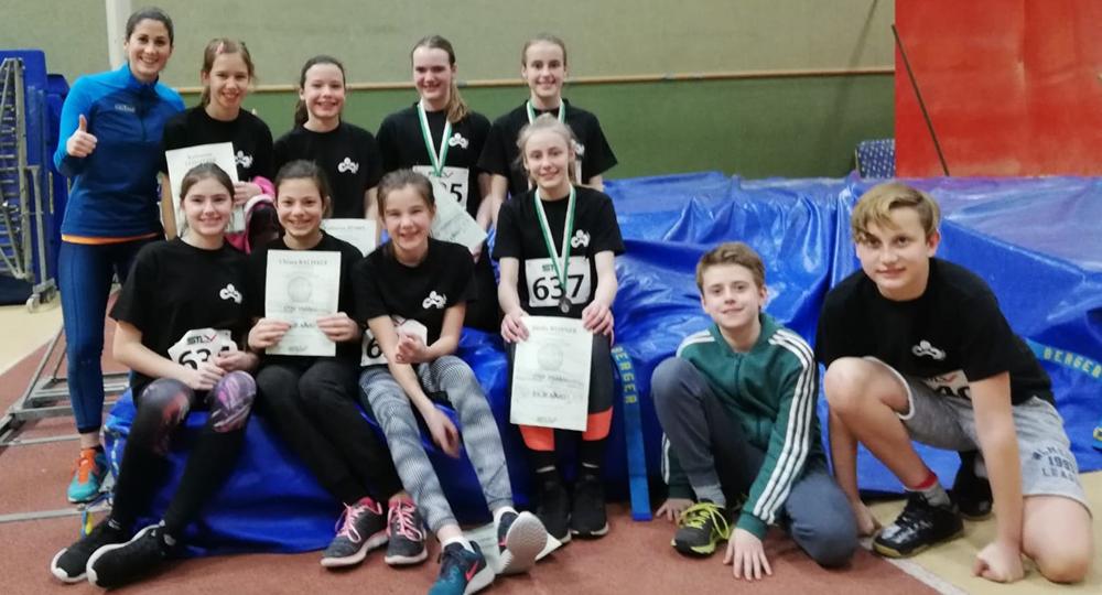 Bronze für Leichtathletik-Team