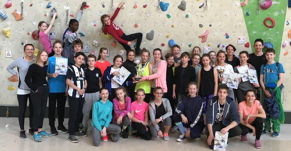 Großartige Erfolge bei den 19. SCHUL OLYMPICS im Bouldern