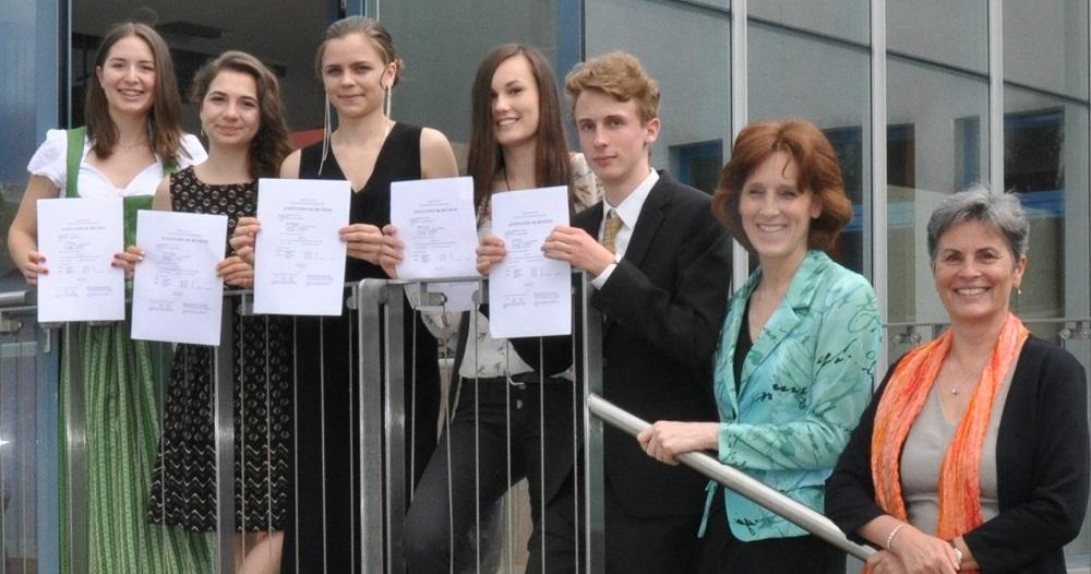 Exzellente Ergebnisse bei der DELF Prüfung: Un grand bravo à nos élèves!