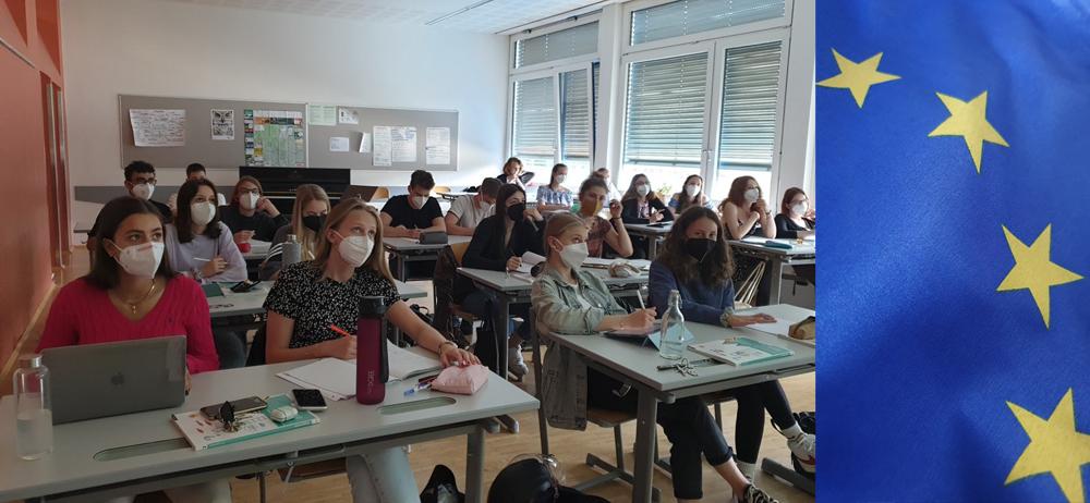 e-Wandertag der 7.B-Klasse nach Brüssel: Eine EU-Sternstunde