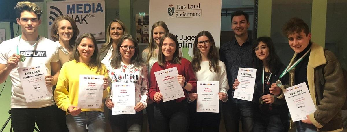 Sensationeller Medaillenregen für die WIKU-Sprachentalente bei Eurolingua und Switch